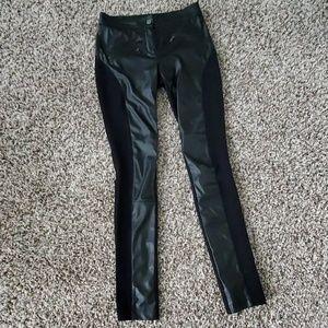 Liquid leather pants